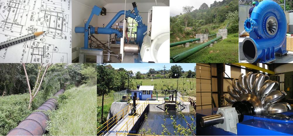 Diseño de sistemas de generación hidroeléctrica