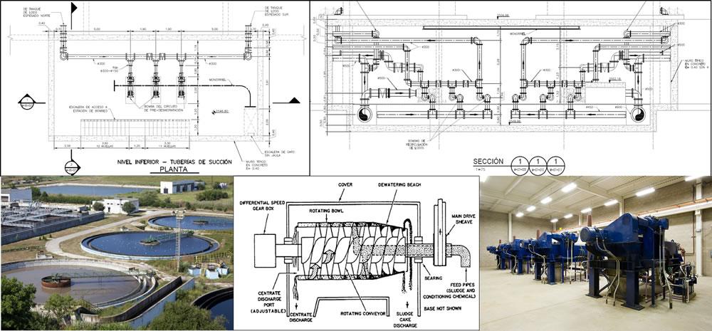 Diseño de plantas de aguas residuales