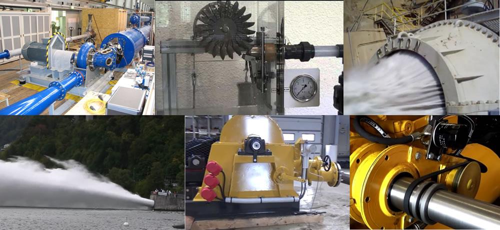 Pruebas de generación hidroeléctrica