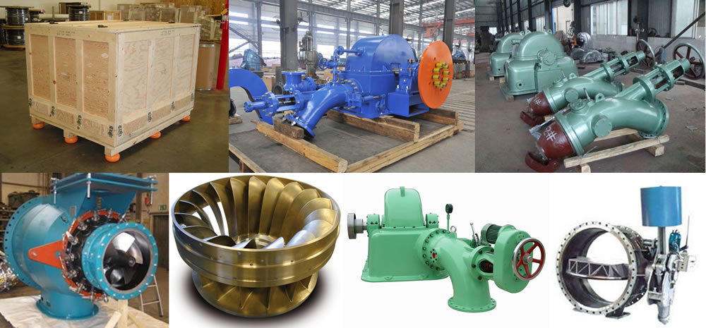 Suministro de unidades de generación hidroeléctrica