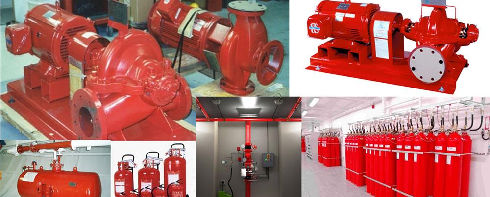Suministro de protección contra incendios
