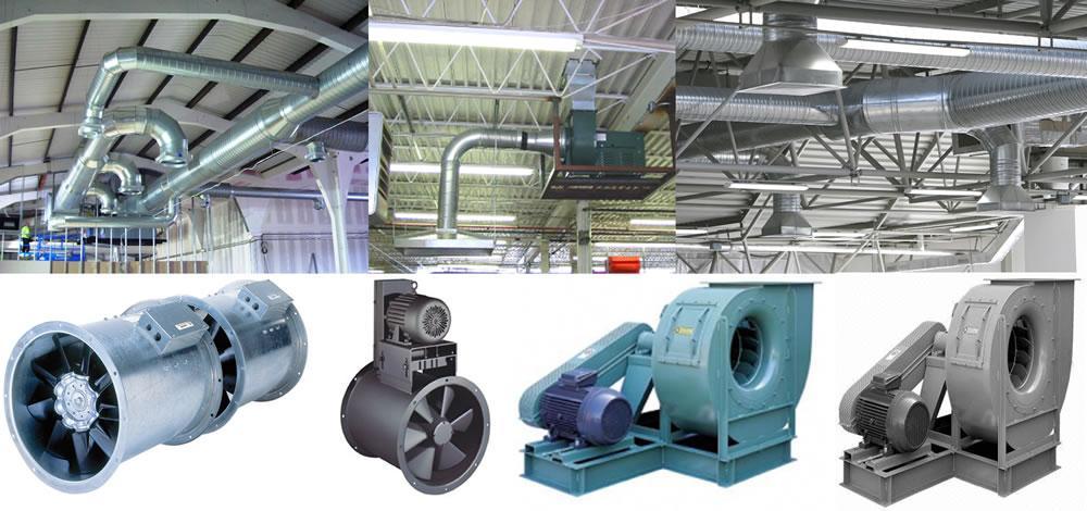 Diseño de sistemas de ventilación