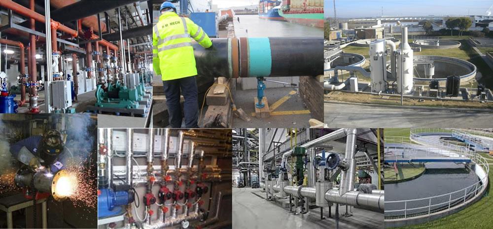 Instalación de equipos de aguas residuales