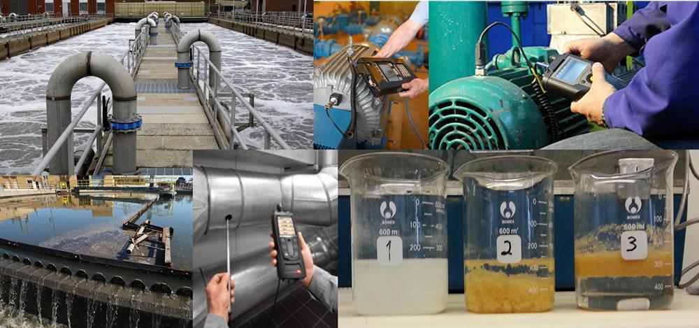 Pruebas de aguas residuales