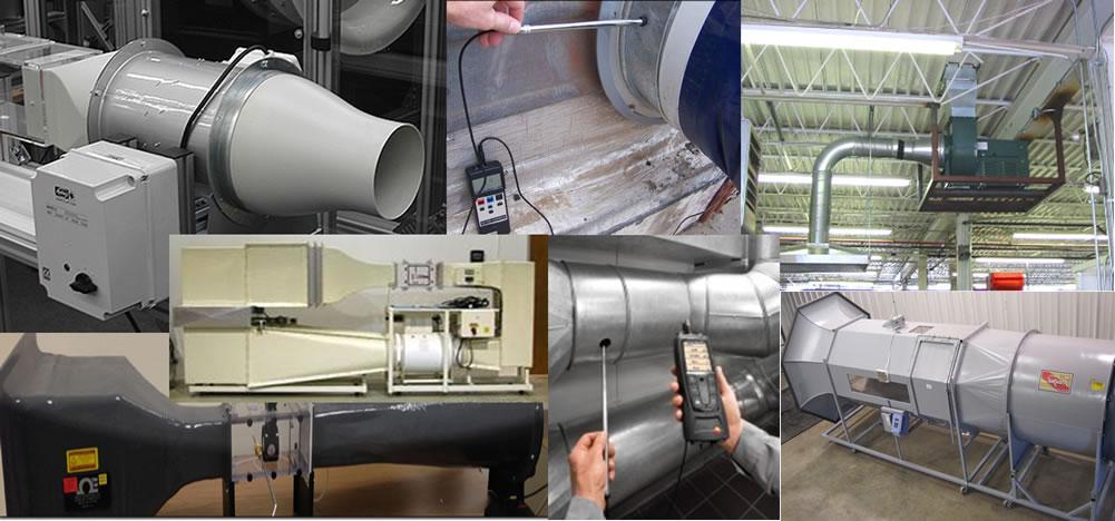 Pruebas de equipos y sistemas de ventilación